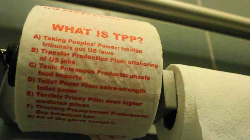 Trash the TPP: Why It's Time to Revolt Against the Worst
