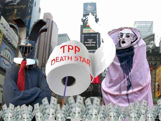 Trans-Pacific Partnership Events OWS Anniversary
