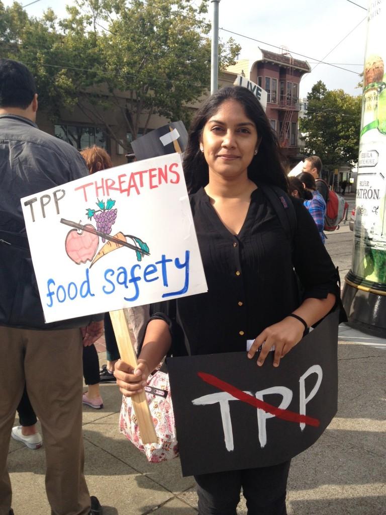 TPP chevron food safety