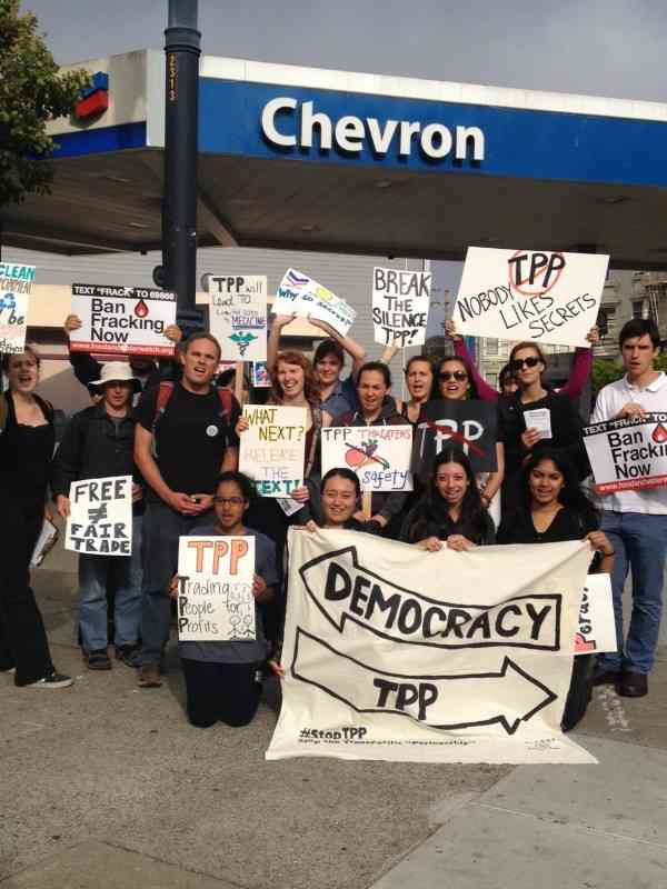 #TPPTuesday Targets Chevron in San Francisco