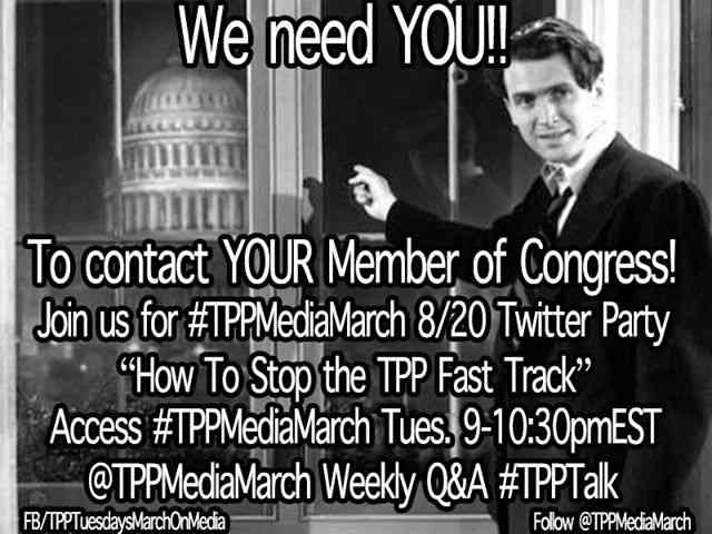 #TPPTuesday Twitter Party