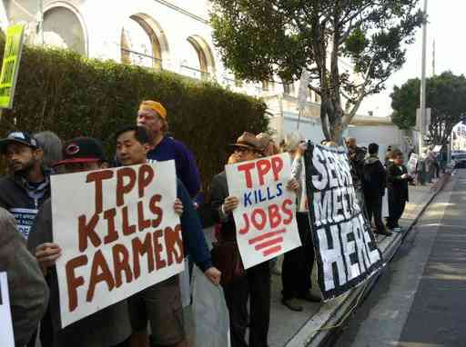 Americans Speak Out Against Trans-Pacific Partnership Trade Deal