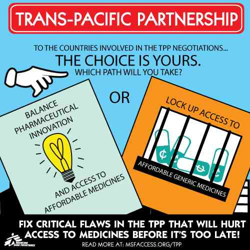 TransPacific Partnership Undermines Health System