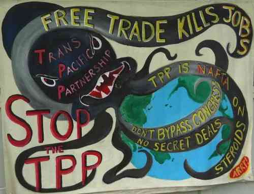 Congress: Just Say No to Fast Track, TPP