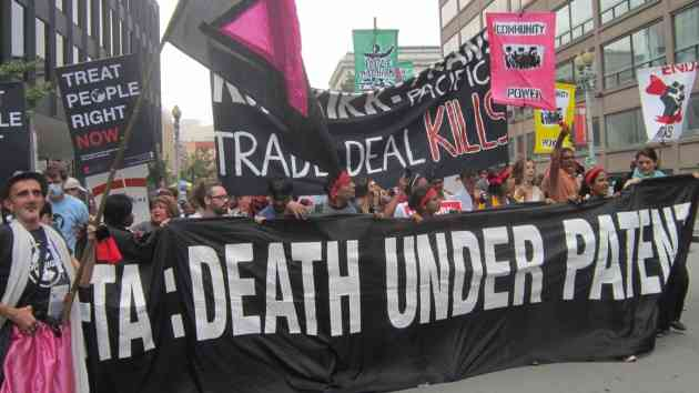 Stopping the Trans-Pacific Partnership is Essential to Work for a Universal Health System