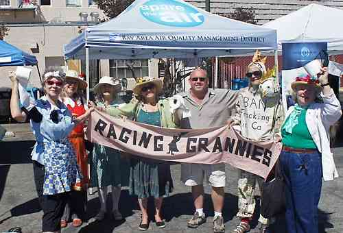 Raging Grannies New Flush the TPP Song!