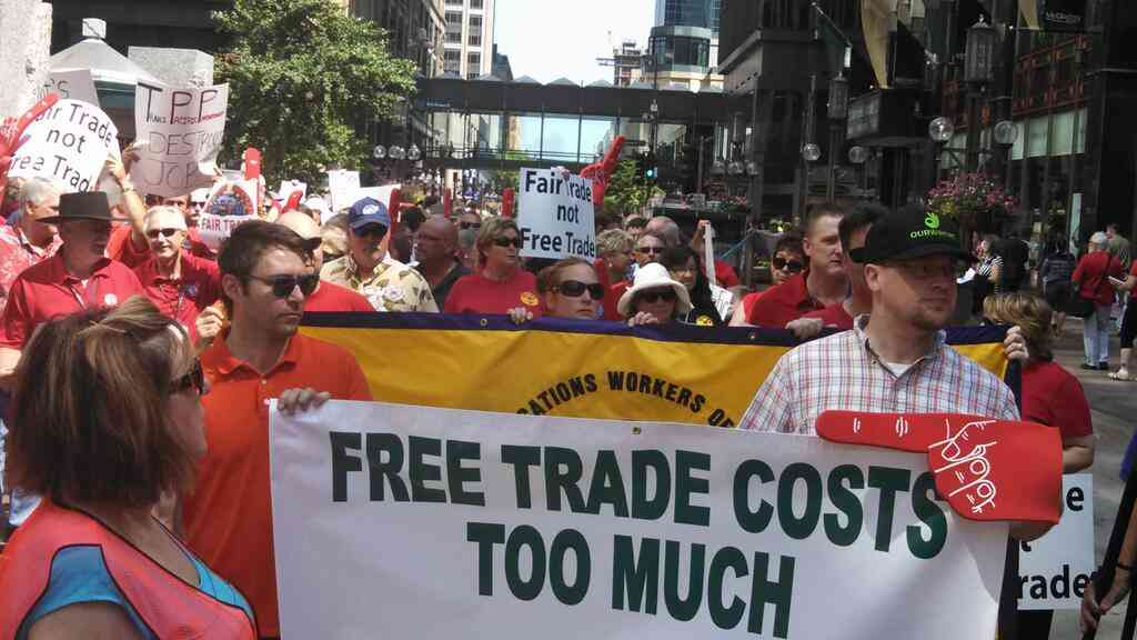 Teamsters Hail Massive Bipartisan Opposition to Fast Track