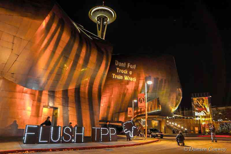 FLUSH the TPP Nat'l Light Action Video