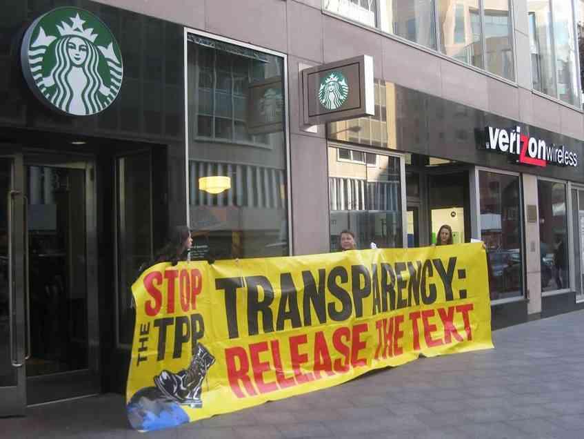 DC Activists March, Deliver 46,000 Signatures to USTR