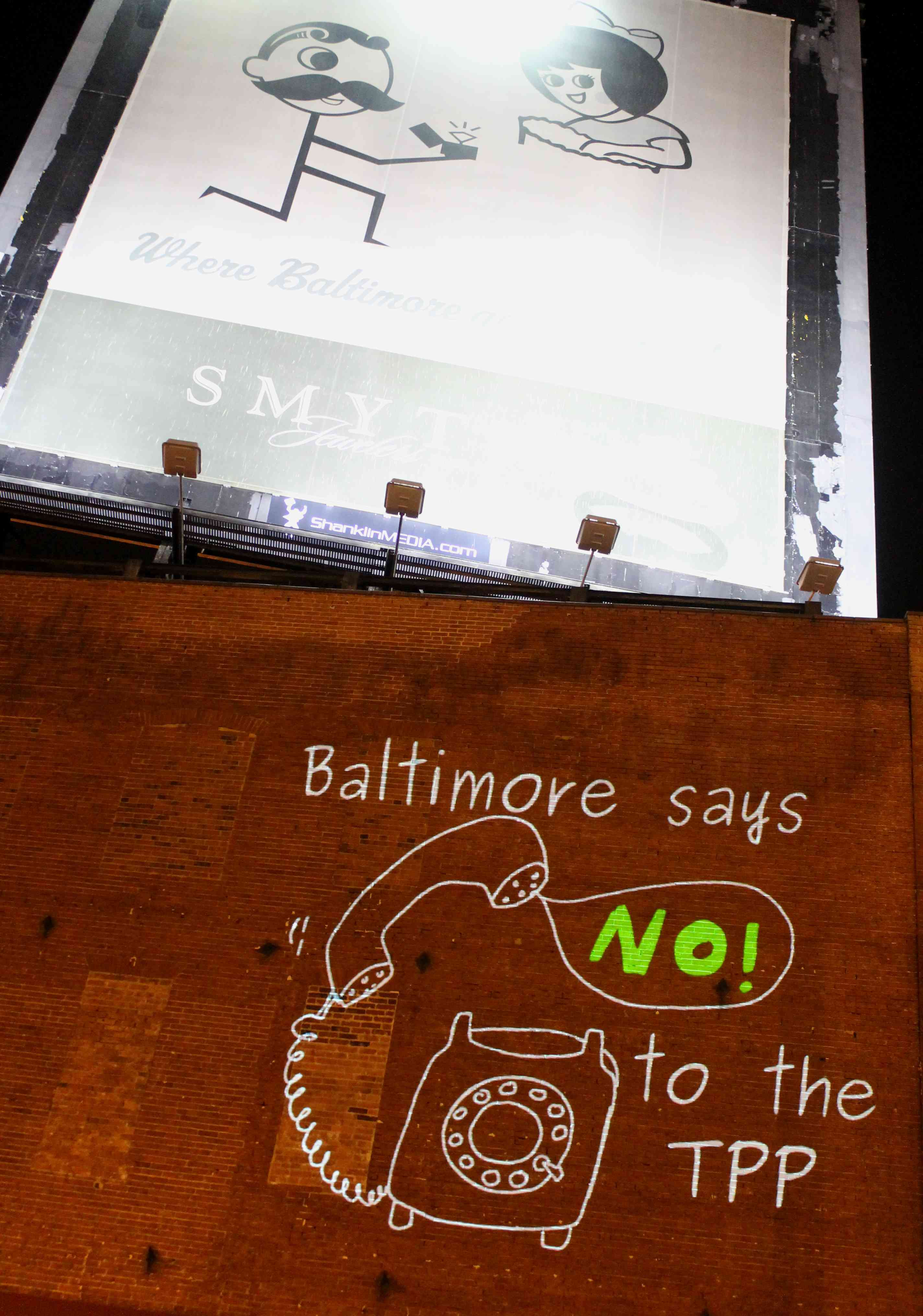 Global Day of Action -- Baltimore-Style!