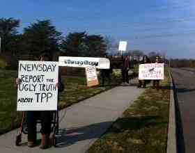 Long Island, NY Tells the Press to Expose the TPP