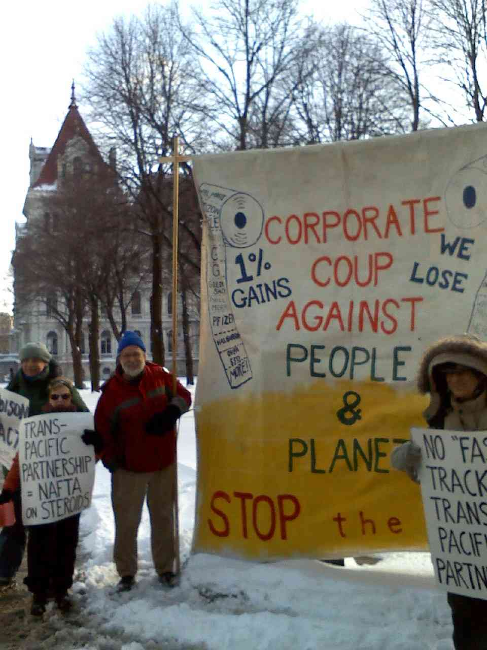 Albany Exposes the Secret Trans-Pacific Partnership, You can too!