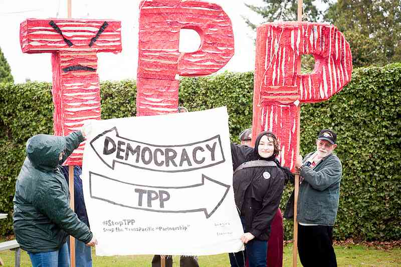 "Trans-Pacific Partnership: ""We Will Not Obey""; Building a Global Resistance Movement"