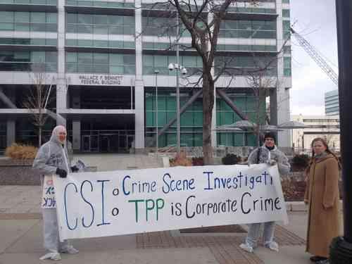 Utah TPP Activist Violently Arrested