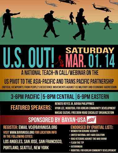 Teach-In on the TPP and the U.S. Military