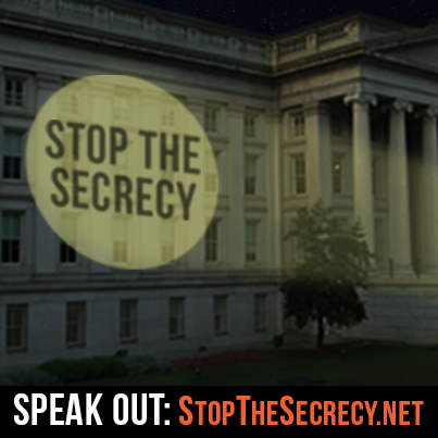 STOP the Secrecy Petition -- Sign Today!