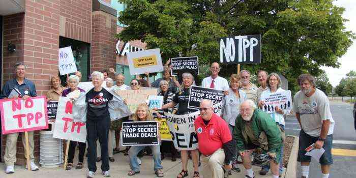 Don't Fast Track TPP!