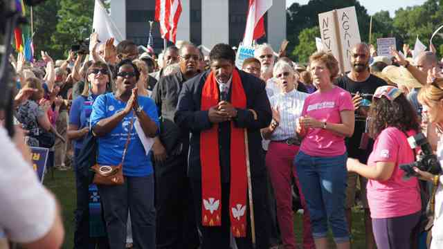 """Rev. Dr. William Barber: """"We Need a Voice: Oppose 'Fast Track' for the TPP"""