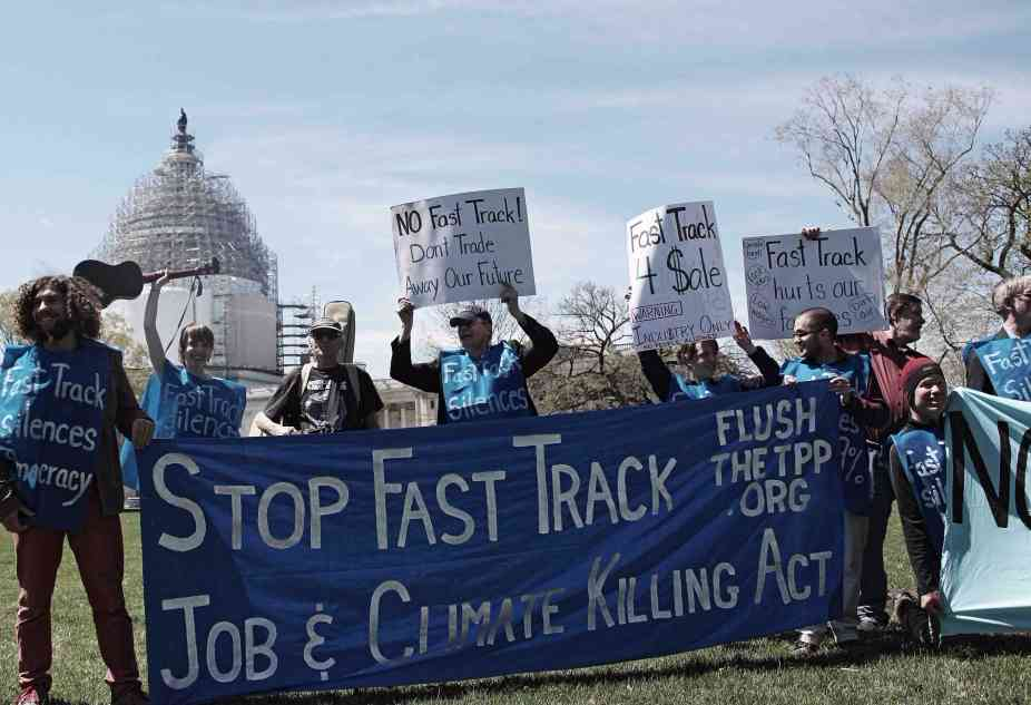 Fast Track Introduced, Opposition Grows Against Rigged Trade