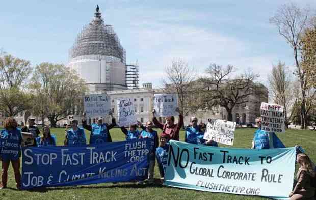 As Fast Track Moves in Committee, Opposition Builds