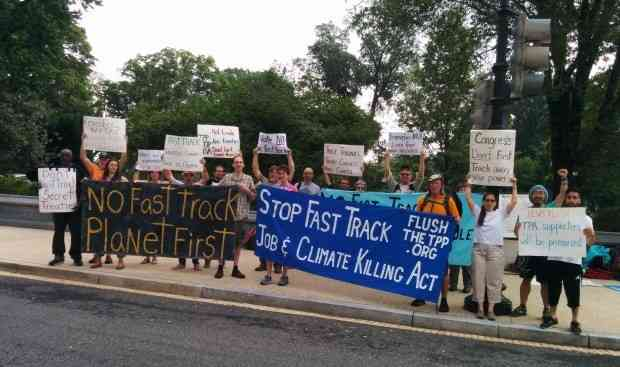 Stop Fast Track Now!