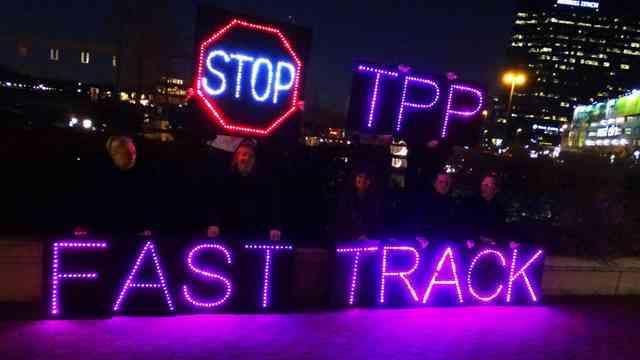 Political Payback For TPP Fast Track Legislators Begins