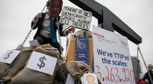 Millions Voice Opposition To 'Corporate Power Grab' Trade Deals