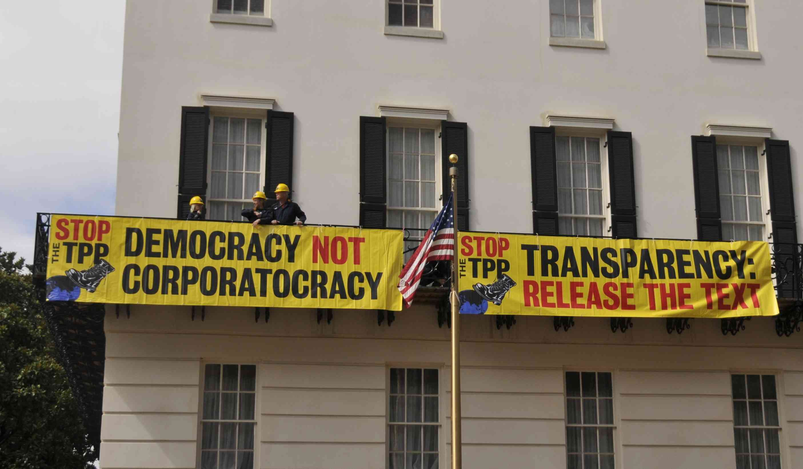 Breaking: TPP Text Published - Take Action!