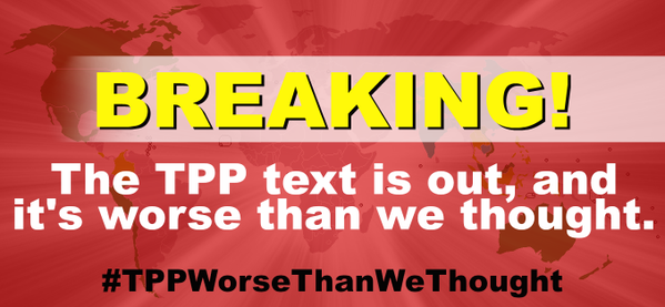 Secret TPP Text Unveiled: It's Worse Than We Thought