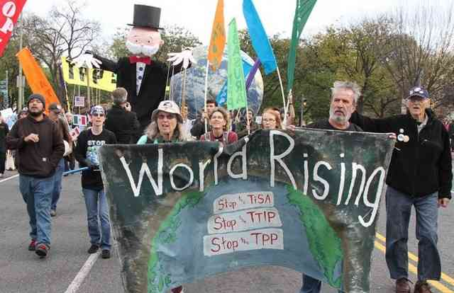 Movement Mobilizes to Stop the TPP