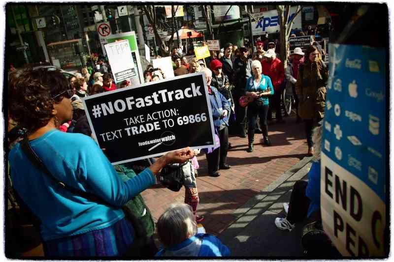 San Francisco: 'TPP is Betrayal' Rally