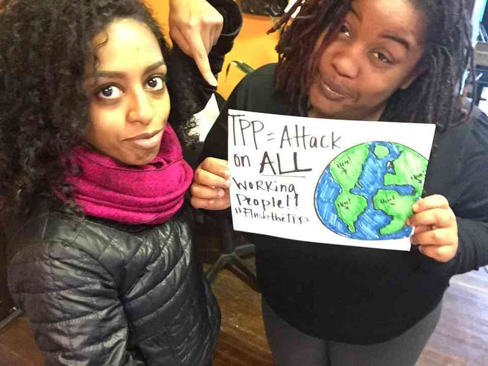 St. Louis: Mobilization to Flush the TPP