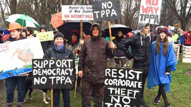 New Zealand: Labour Opposes The TPP