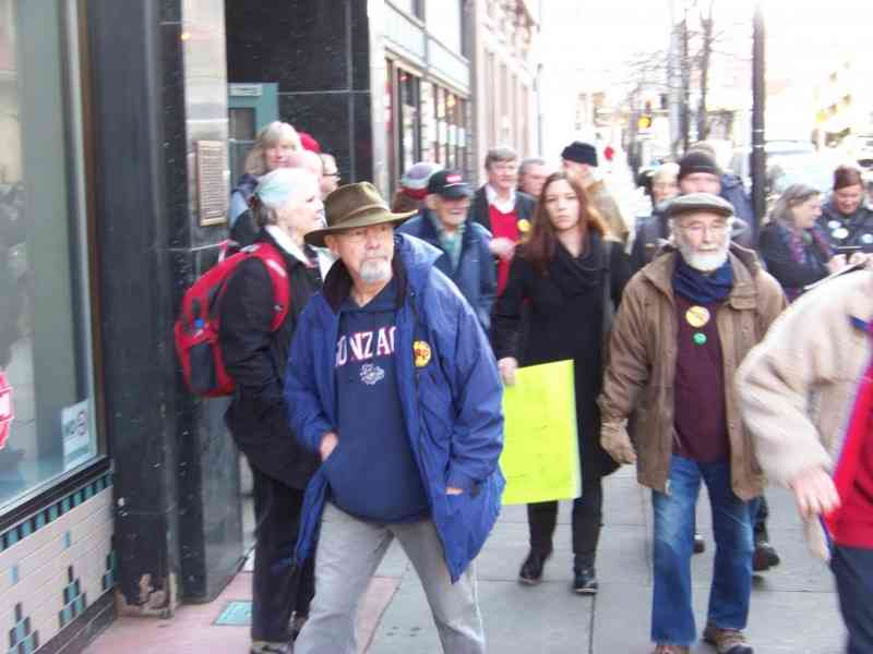 Spokane - 'TPP is Betrayal' Action