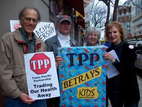 Boston: 'TPP is Betrayal' Rally