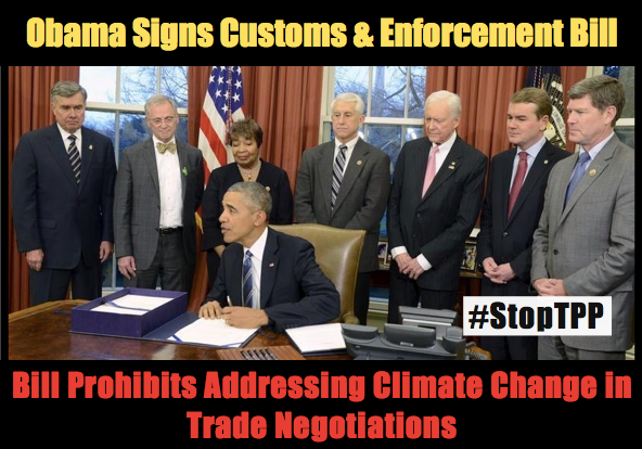 Obama Just Signed Customs and Enforcement Bill: Why this matters