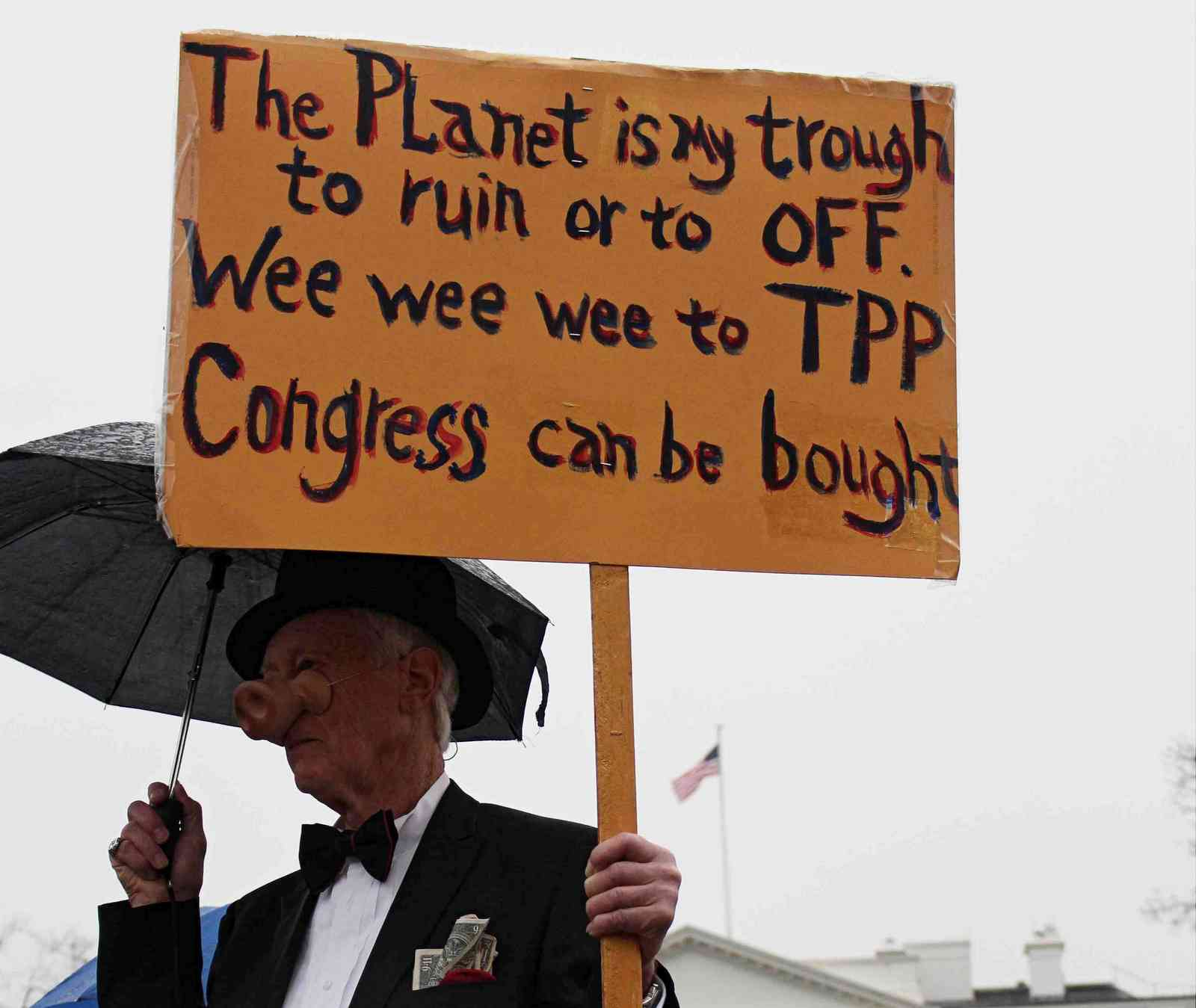 People Are Stopping The TPP; Time To Finish Off Corporate Trade