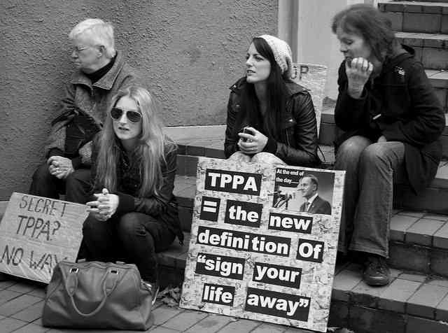 Don't give a damn about the TPP?