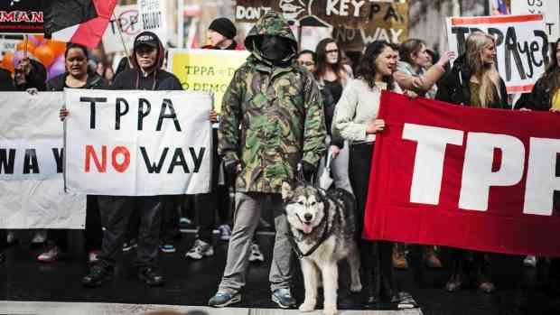 New Zealanders Prepare To Shut Down TPP Signing