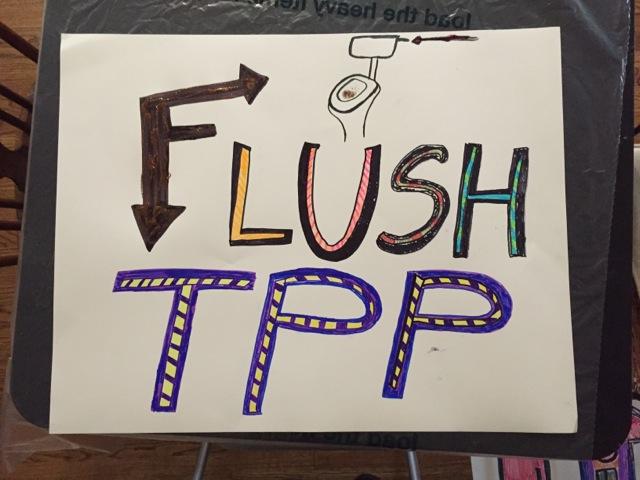 Flush TPP poster