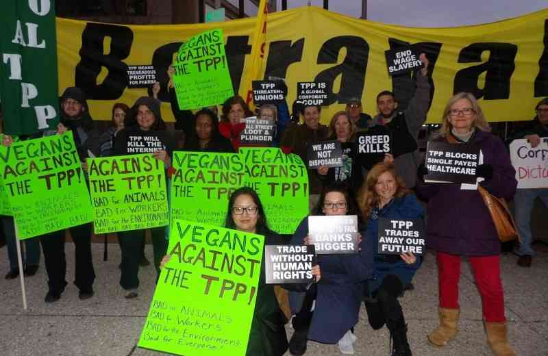 Baltimore: 'TPP is Betrayal' Rally