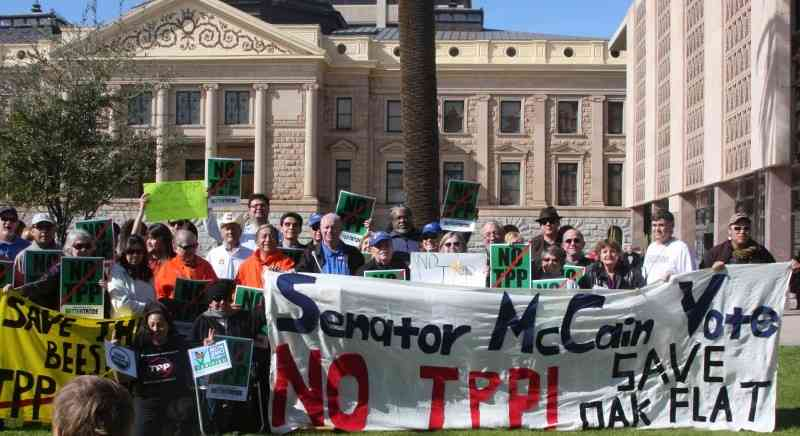 Phoenix, AZ: Solidarity to Stop TPP and Oppose Corporate Destruction