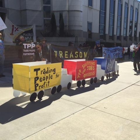 TPP is treason