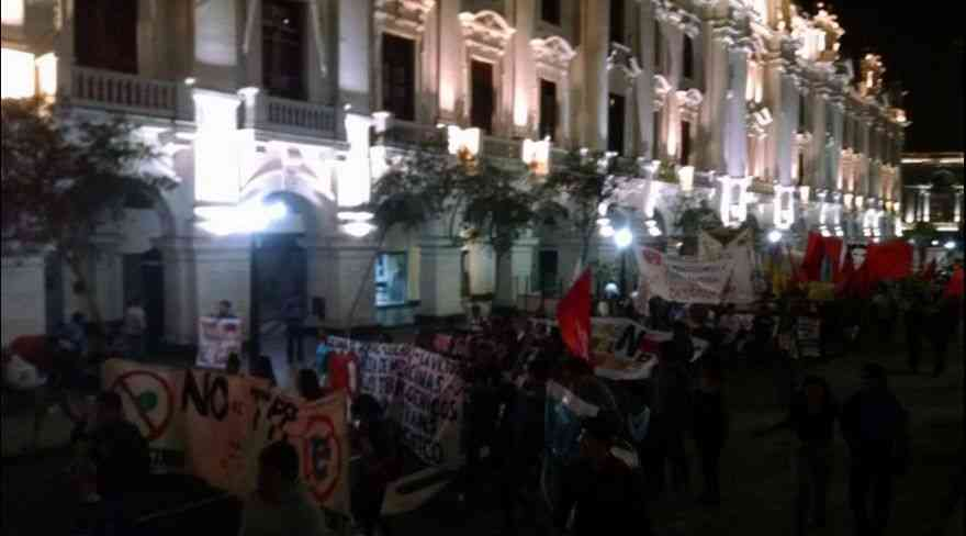 Peru: March Against the TPP Called by Hundreds of People