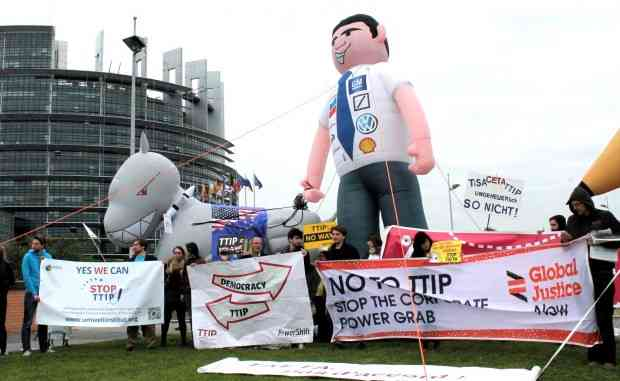 EU told ExxonMobil that TTIP would aid global expansion