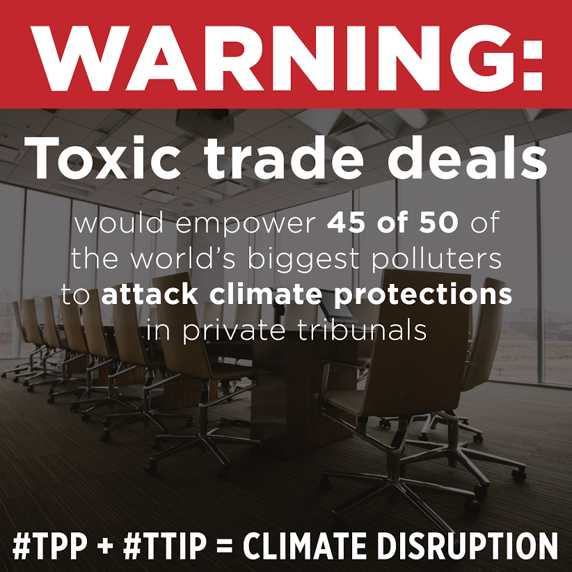 Want To Keep Fossil Fuels In The Ground? Stop These Trade Deals