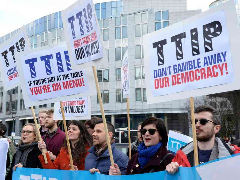 TTIP: Big business and US to have major say in EU trade deals, leak reveals