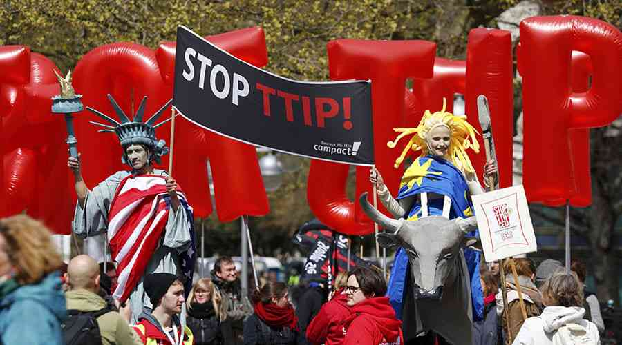 Against 'essential principles': Hollande says France rejects TTIP
