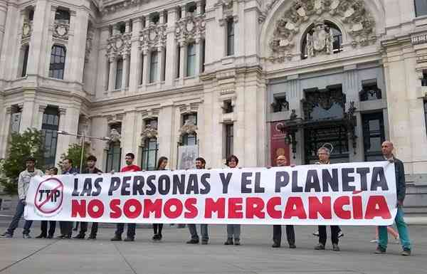 The city council of Madrid says NO to CETA and TTIP