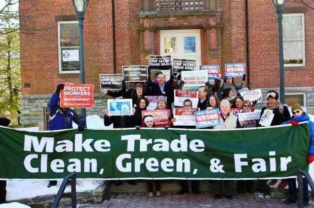 Trade Deals and the Environmental Crisis